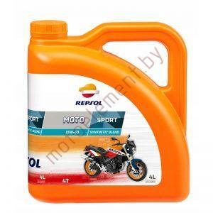 REPSOL MOTO SPORT 4T 15W50 4L