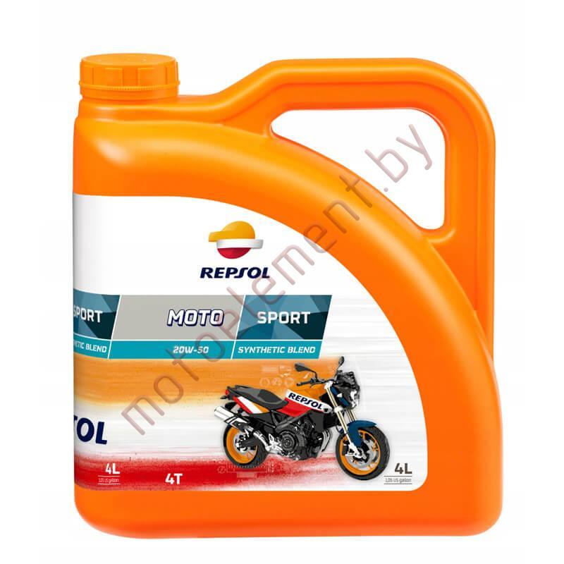 REPSOL MOTO SPORT 4T 20W50 4L