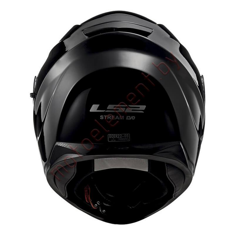LS2 FF320 STREAM EVO SOLID BLACK