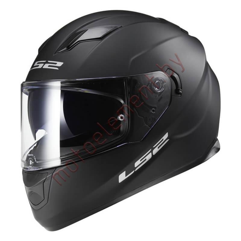 LS2 FF320 STREAM EVO Solid Black Matt