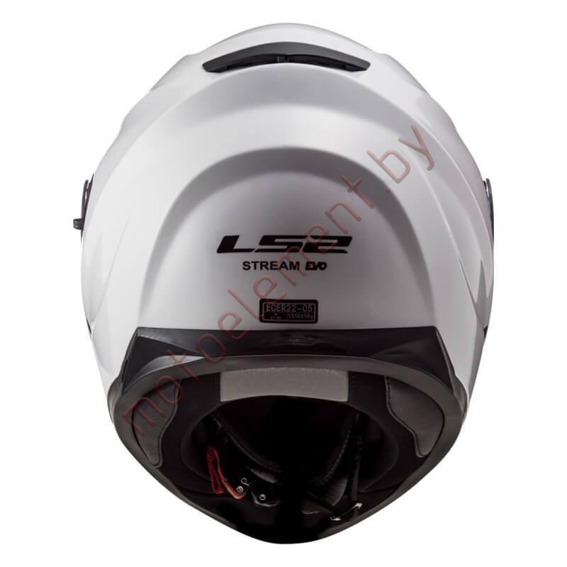 LS2 FF320 STREAM EVO Solid WHITE