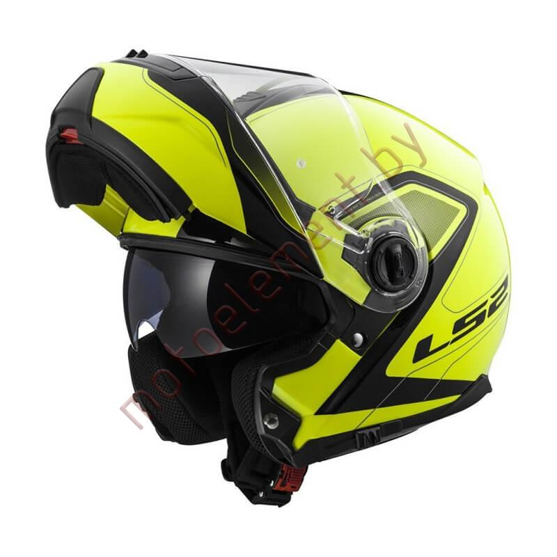 LS2 FF325 STROBE SNOW Civik (Yellow Black)