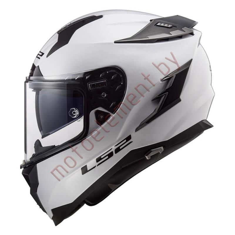 LS2 FF327 Challenger Mono (White)