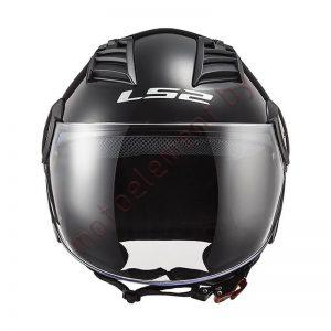 LS2 OF562 AIRFLOW Solid (Black)