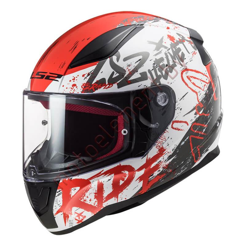 LS2 FF353 RAPID Naughty (White Red)