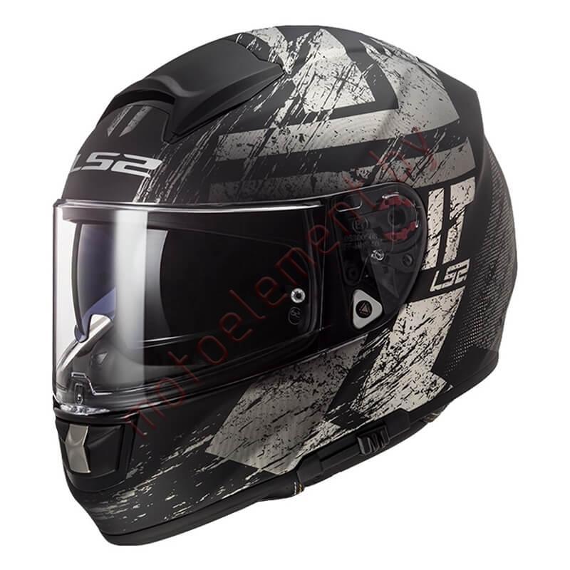 LS2 FF397 VECTOR FT2 Hunter (Matt Black Grey)