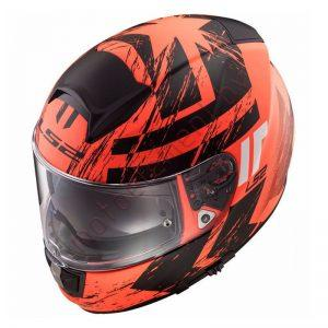 LS2 FF397 VECTOR FT2 Hunter (Matt Black Orange)