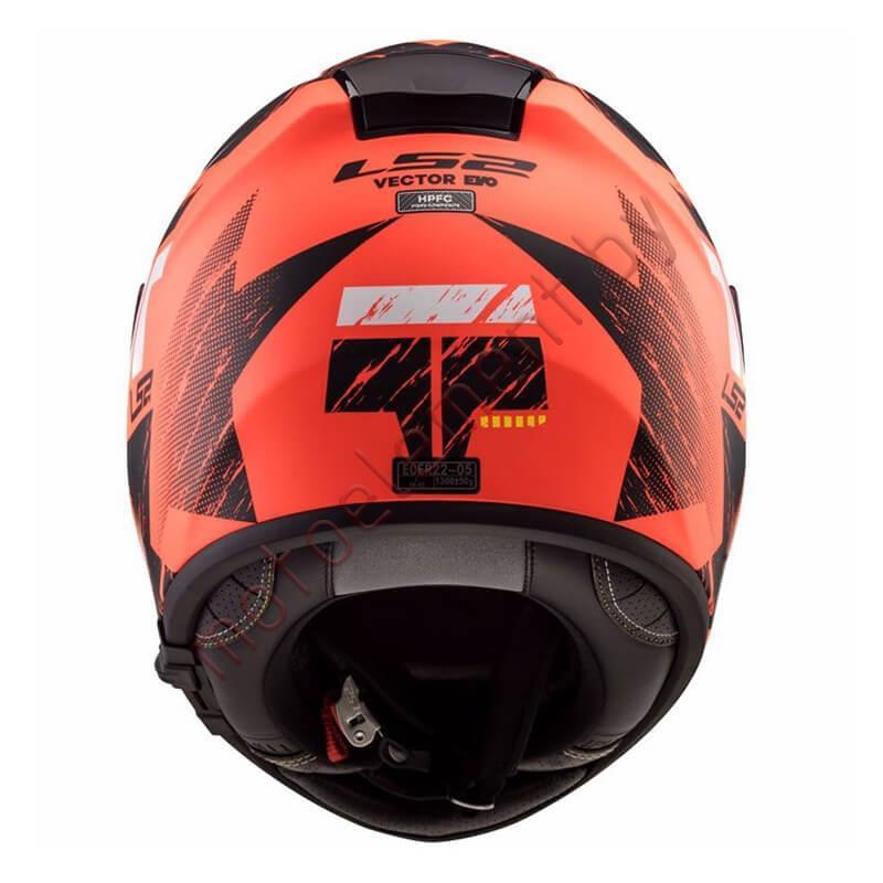 LS2 FF397 VECTOR FT2 Hunter (Matt Black Orange)