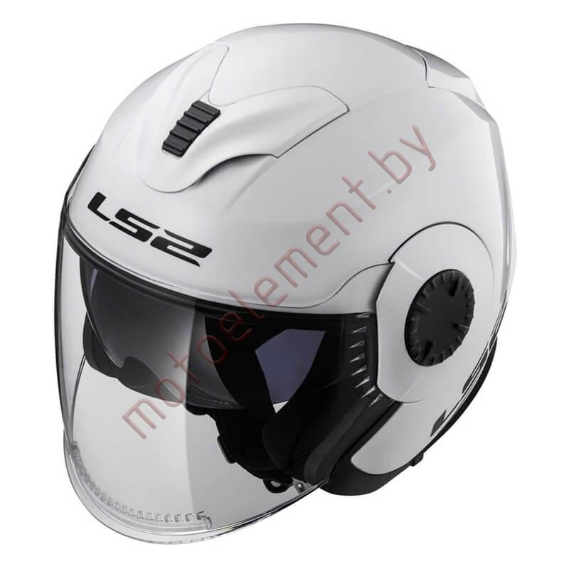 LS2 OF570 VERSO Solid (White)