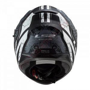 LS2 FF320 STREAM EVO THRONE (Matt Black Titanium)