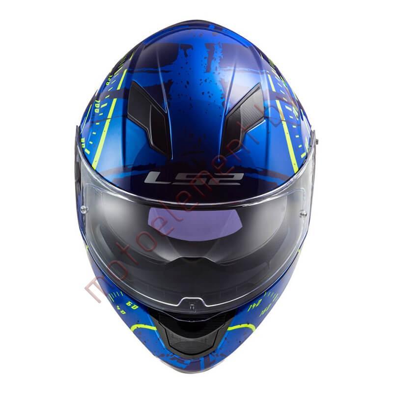LS2 FF320 STREAM EVO Tacho (Blue H-V Yellow)