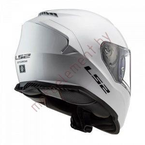 LS2 FF800 STORM Solid (White)